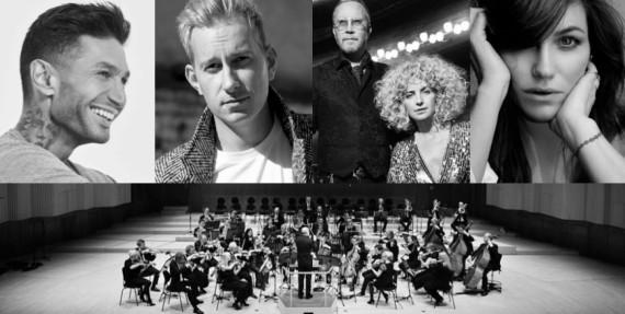 Horsens & Friends - Burhan G, Pernille Rosendahl, Hush og Noah med Danmarks Underholdnings-orkester